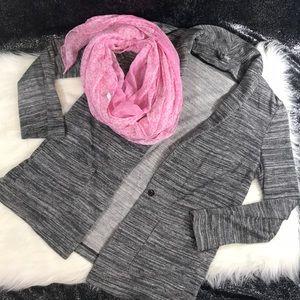 Grey marbled cardigan